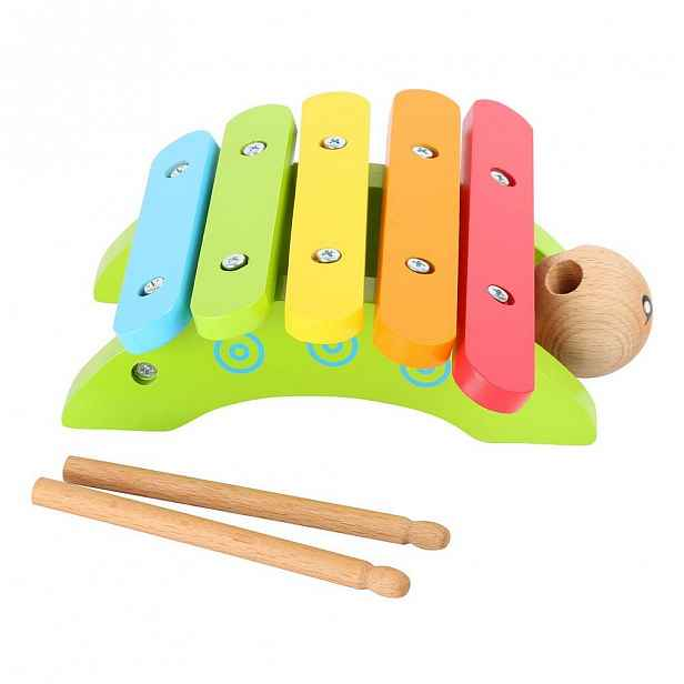 Dřevěný xylofon Legler Snail