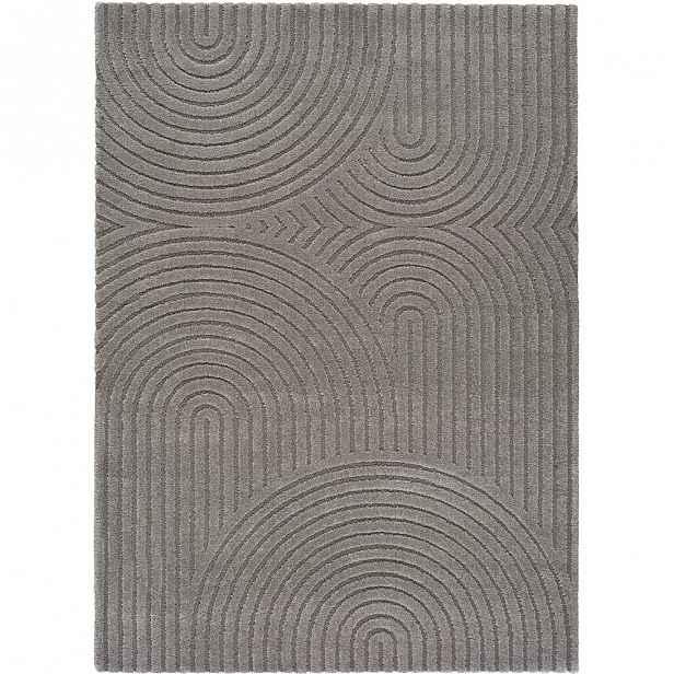 Šedý koberec Universal Yen One, 80 x 150 cm
