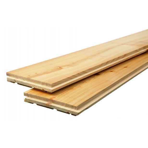Podlaha dřevěná FeelWood bez PÚ AB sibiřský modřín 15×135×1973 mm