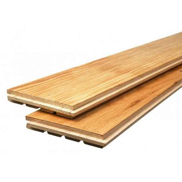 Podlaha dřevěná FeelWood bez PÚ AB evr. dub markant 21×137×2053 mm