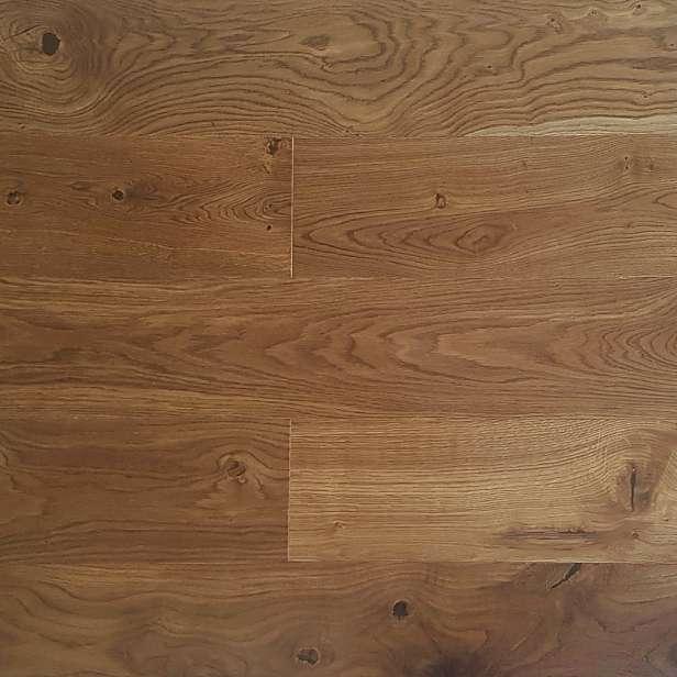 Dřevěná podlaha EKOWOOD dub rustikal, lehce kouřový 185x2150 mm
