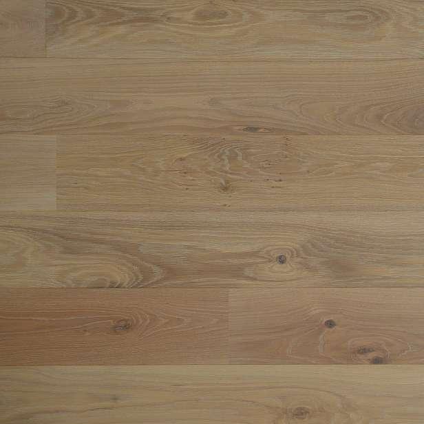 Dřevěná podlaha EKOWOOD dub classic, bílá 192×2150 mm