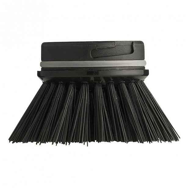Černý náhradní kartáč Zone Hard Black,ø6cm