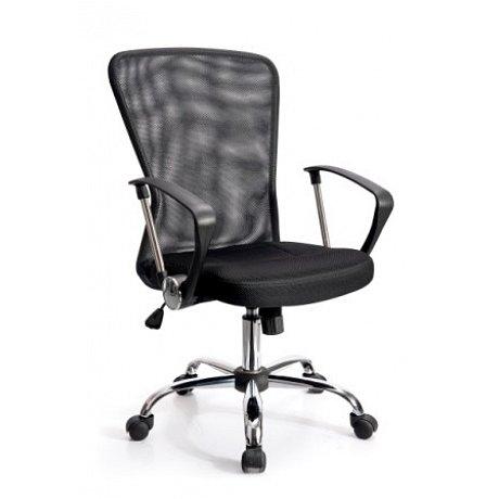 Kancelářské křeslo ADK BASIC, černé -  95,5 - 105,5 x 57,5 x 59 cm