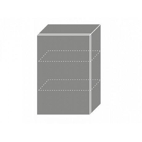 PLATINUM, skříňka horní W2 50, korpus: bílý, barva: black