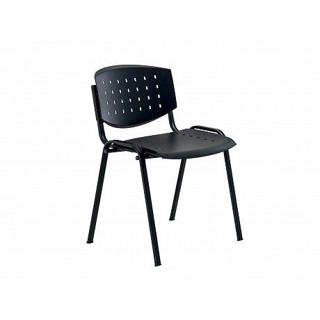 Konferenční židle LAYER, černá - výška: 73 cm