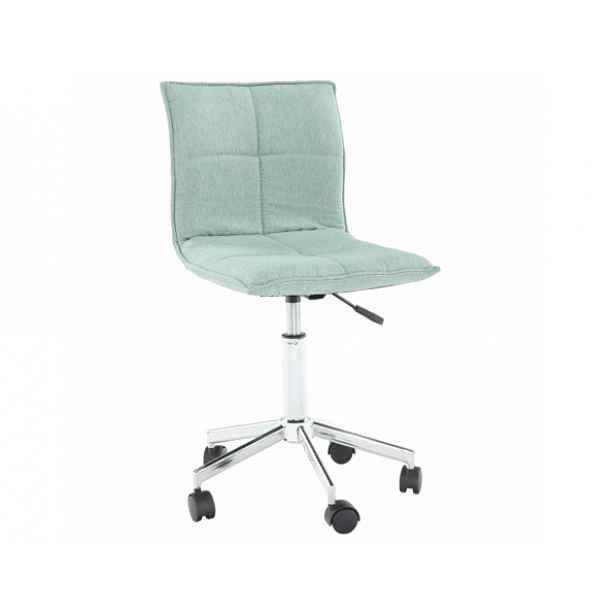 Konferenční židle CRAIG, mentolová - 41 cm