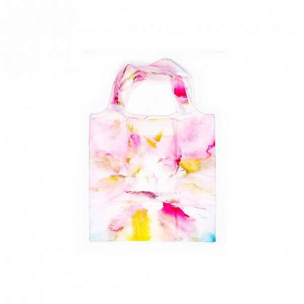 Bílo-růžová nákupní taška Tri-Coastal Design