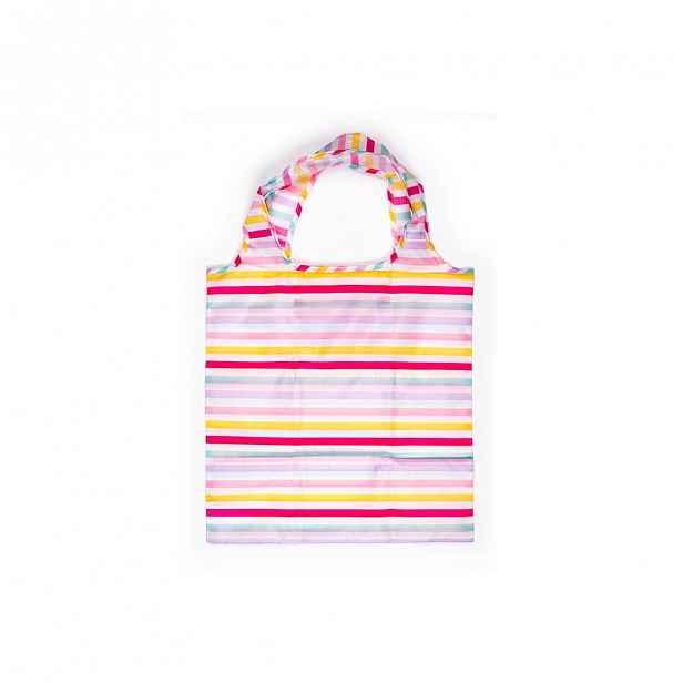 Žluto-růžová nákupní taška Tri-Coastal Design