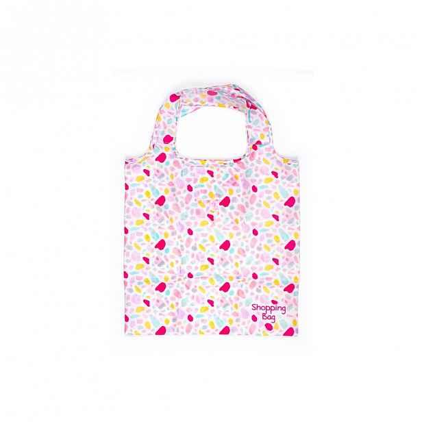 Růžovo-fialová nákupní taška Tri-Coastal Design