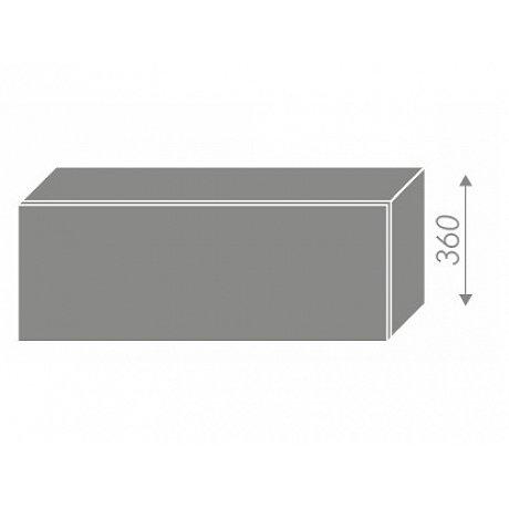 SILVER+, skříňka horní W4b 90, korpus: lava, barva: black pine