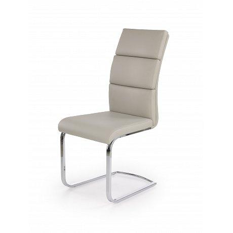 Jídelní židle K-230, světle šedá
