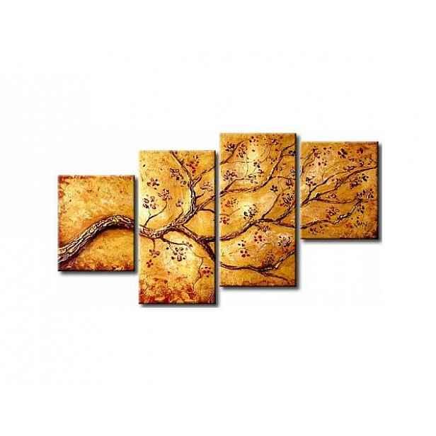 Vícedílné obrazy - Zlatá větev