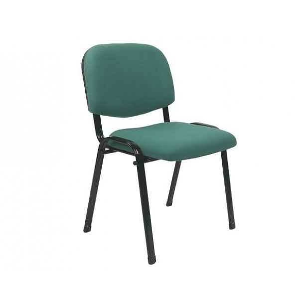 Konferenční židle ISO 2 NEW, zelená - 53,5x43x78 cm
