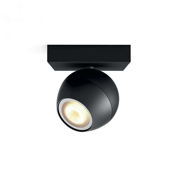 Svítidlo bodové 5,5W, Philips Hue Buckram černá