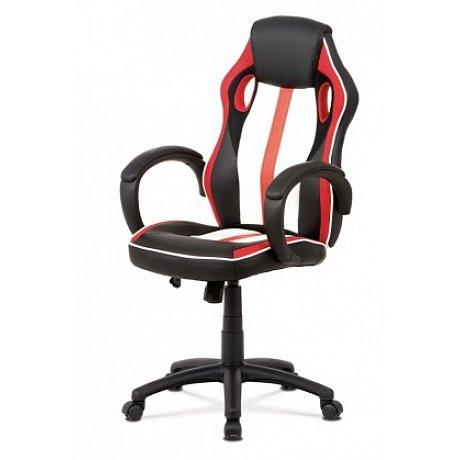 Kancelářská židle Quest červená - 47x118x48 cm