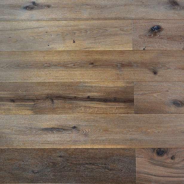 Dřevěná podlaha EKOWOOD dub rustikal, lehce k. bílý 192×2150 mm