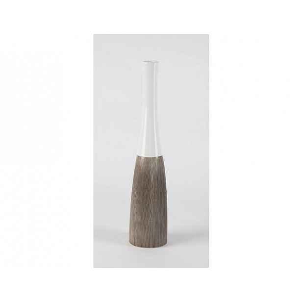 Keramická váza Tower, bílá