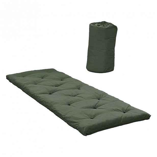 Matrace pro hosty Karup Design Bed In A Bag Olive Green