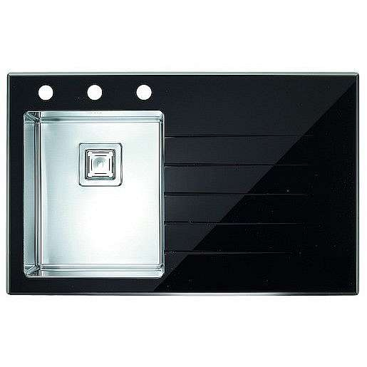 Dřez Alveus Crystalix 10 černá 1099633