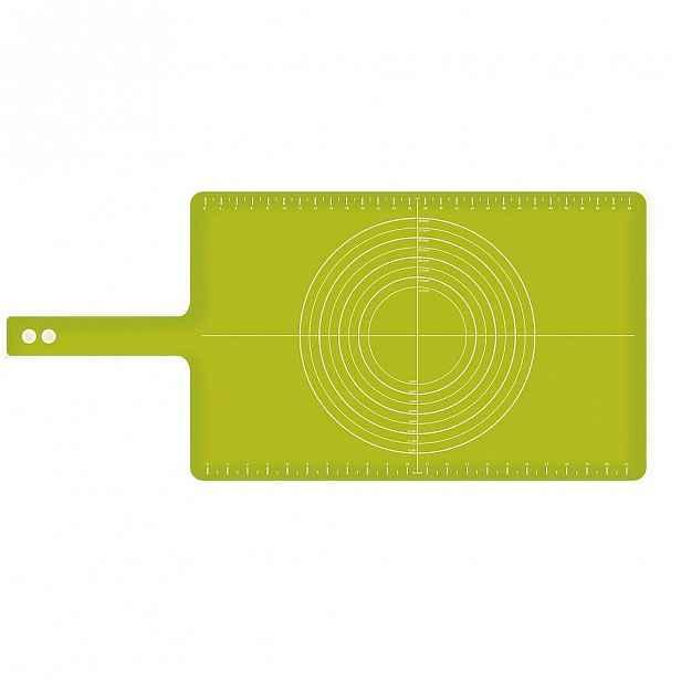 Zelená silikonová podložka Joseph Joseph Roll up, délka74cm