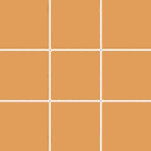 Mozaika Rako Color Two tmavě oranžová 10x10 cm mat GAA0K150.1
