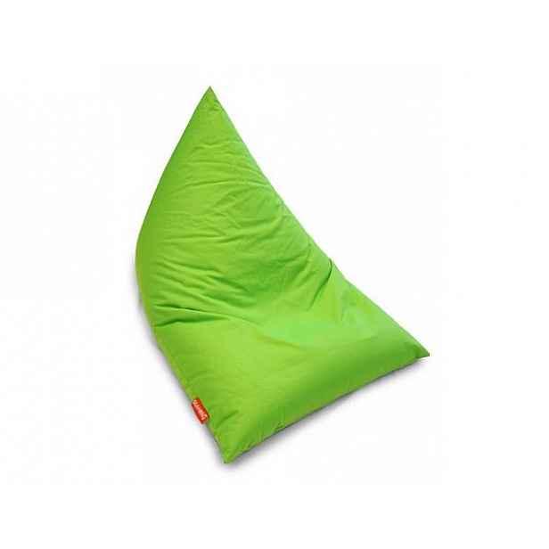 Zelený sedací vak BeanBag Triangle Light Green