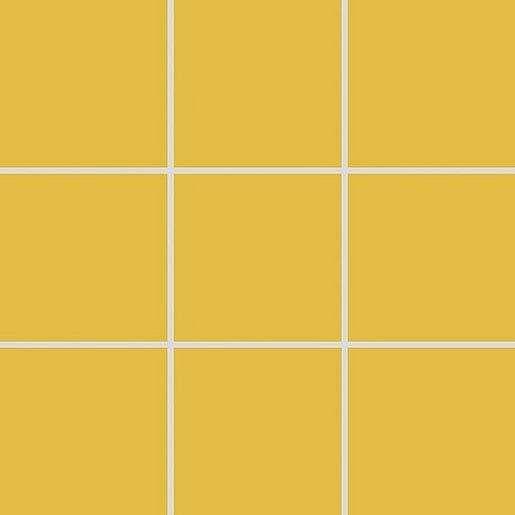 Mozaika Rako Color Two tmavě žlutá 10x10 cm mat GAA0K142.1