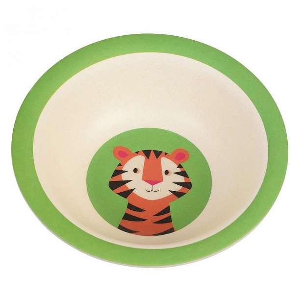 Dětská miska z bambusu Rex London Teddy the Tiger