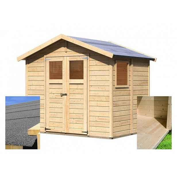 Dřevěný zahradní domek 245 x 180 cm