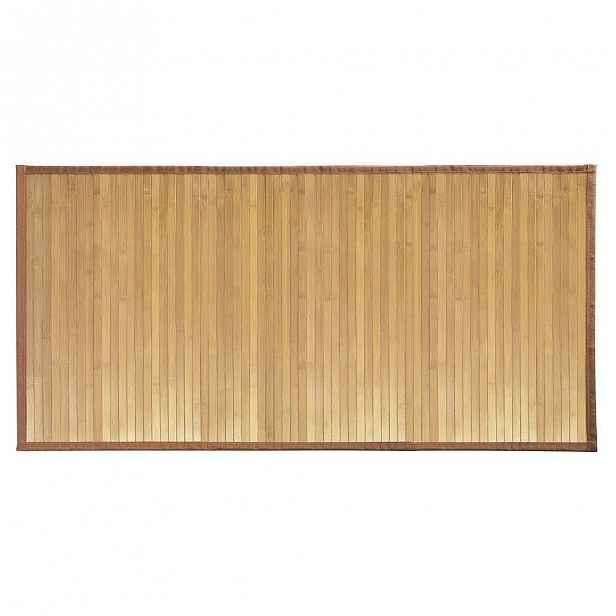 Bambusová koupelnová předložka iDesign Formbu Mat LG