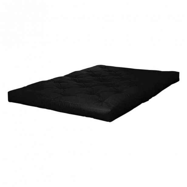 Matrace v černé barvě Karup Design Coco Black, 140 x 200 cm