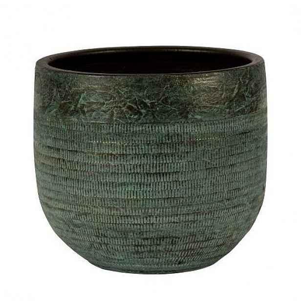 Obal kulatý SERENA 1-01A keramika zelená 18cm
