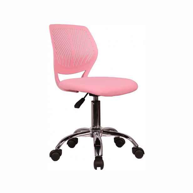 Kancelářská židle SELVA Tempo Kondela Růžová