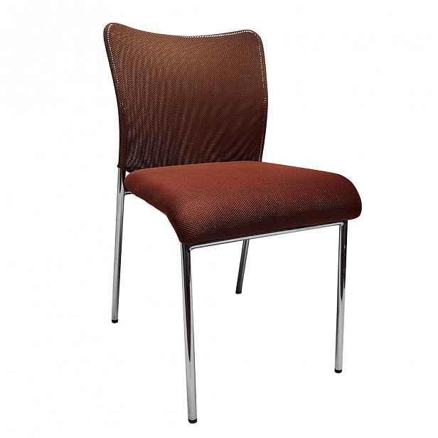 Konferenční židle ALTAN Tempo Kondela Hnědá - 46 cm