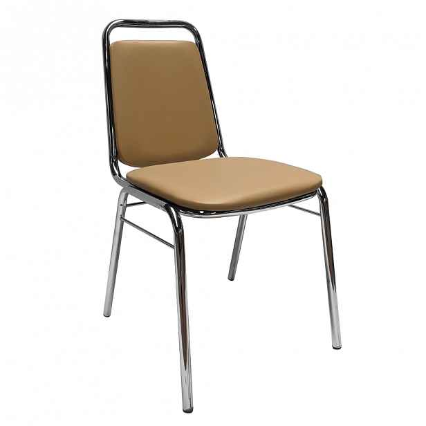 Konferenční židle ZEKI Tempo Kondela Hnědá - 45 cm