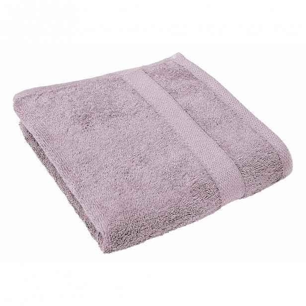 Šeříkově fialový ručník Tiseco Home Studio, 50 x 100 cm