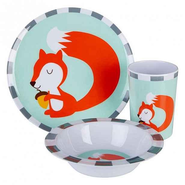 3dílný dětský jídelní set Premier Housewares Mimo Susie Squirrel