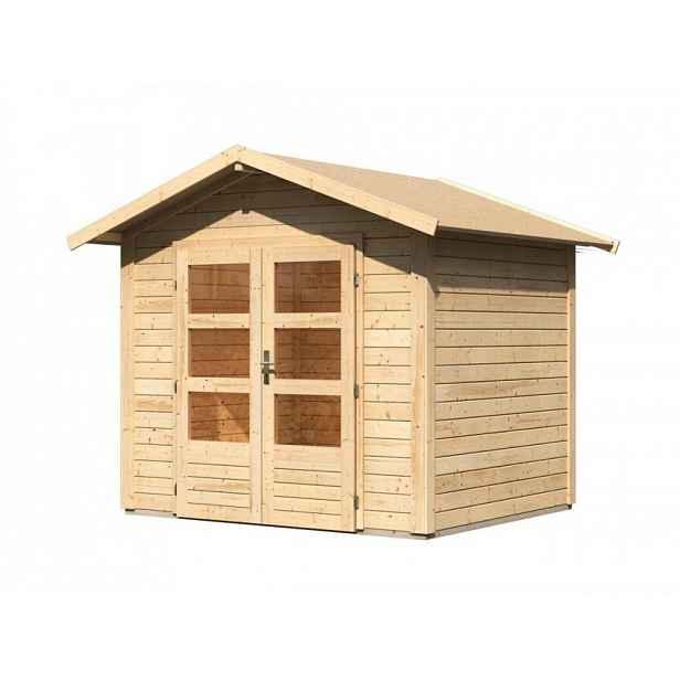 Dřevěný zahradní domek 244 x 204 cm