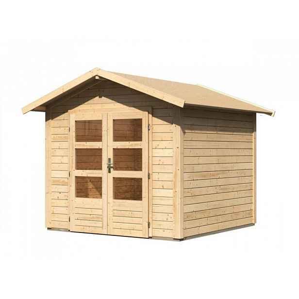 Dřevěný zahradní domek 244 x 244 cm