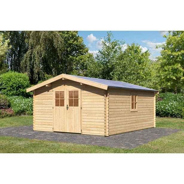 Dřevěný zahradní domek 357 x 297 cm