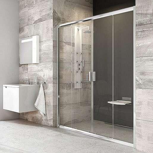 Sprchové dveře 130x190 cm Ravak Blix chrom lesklý 0YVJ0C00Z1