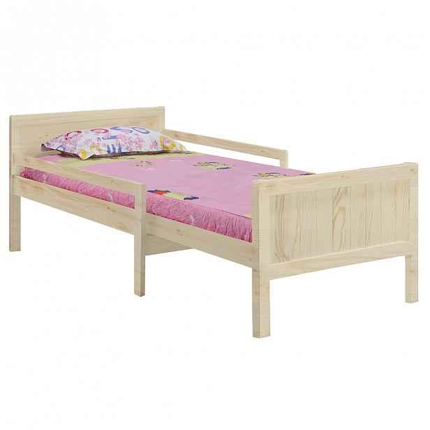 Dětská nastavitelná postel EUNIKA Tempo Kondela Borovice