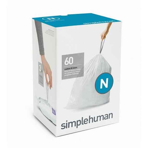 Sáčky do odpadkového koše 45-50 L, Simplehuman typ N zatahovací, 3 x 20 ks ( 60 sáčků )
