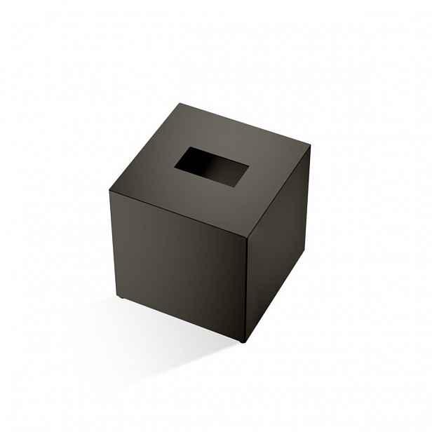 Box na papírové kapesníky Decor Walther CUBE, tmavý bronz 0845617