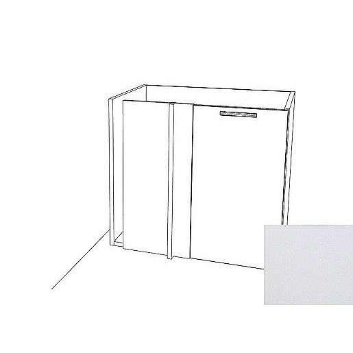 Kuchyňská skříňka rohová spodní Naturel Gia 80 cm bílá mat BC8072BM