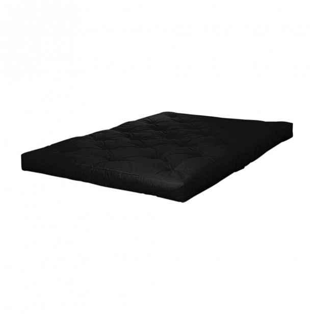 Černá futonová matrace Karup Design Coco Futon,90x200cm