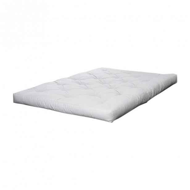 Krémová futonová matrace Karup Design Comfort,90x200cm