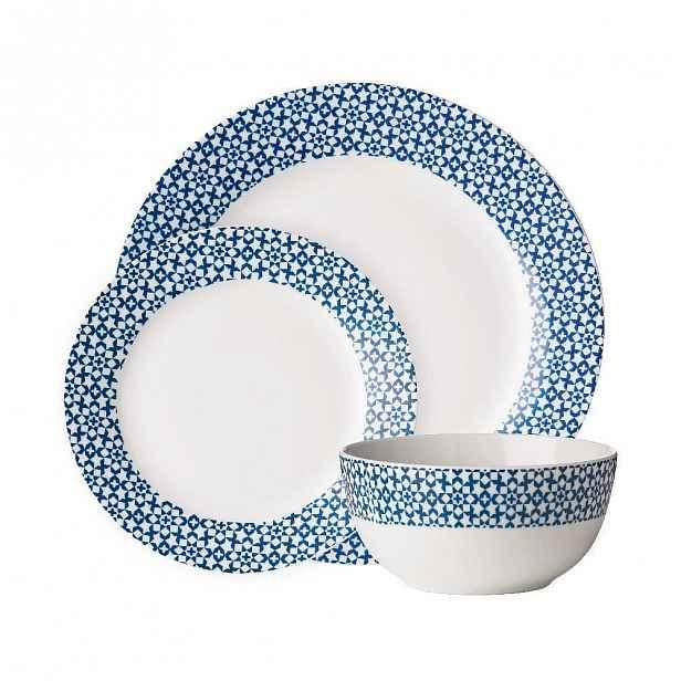 Set 12 ks nádobí Casablanca Blue