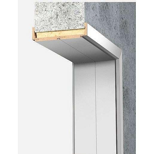 Obložková zárubeň Naturel 60 cm pro tloušťku stěny 18-20 cm bílá pravá O4BF60P